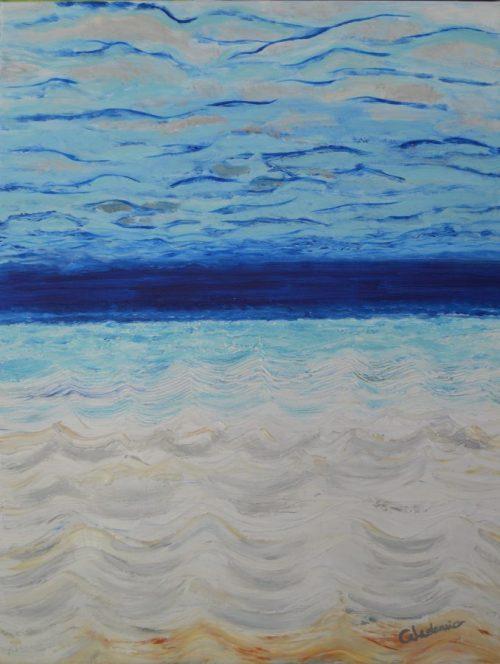 cuadro de agua