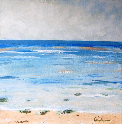 cuadro de paisaje marino 112