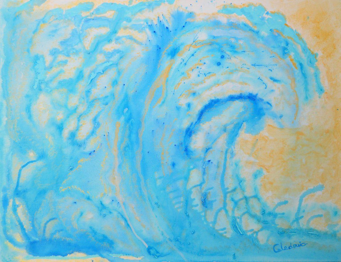 cuadro de pintura acrílica