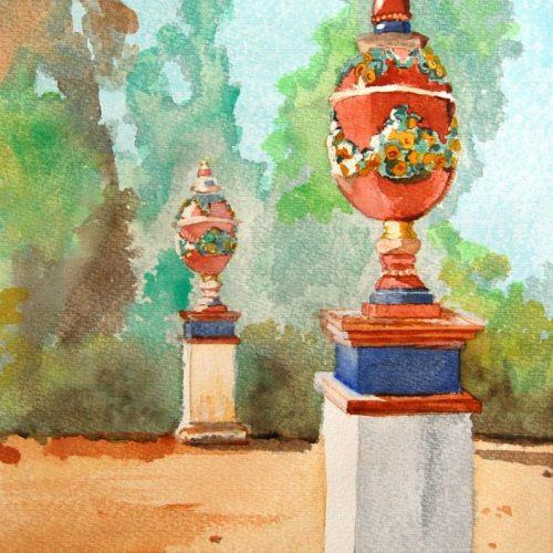 cuadro pintado con acuarela 018