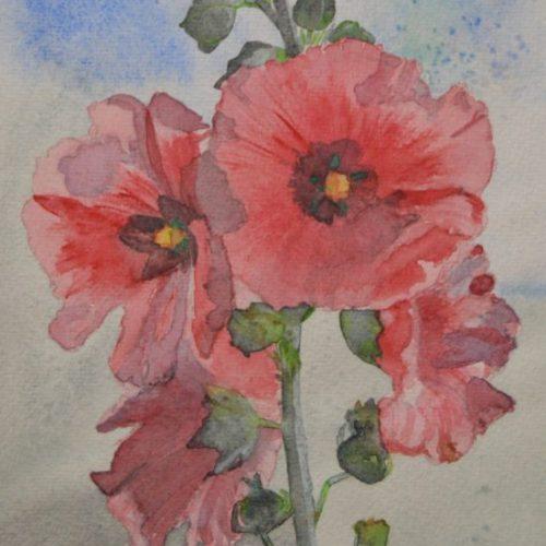 cuadros con flores 028