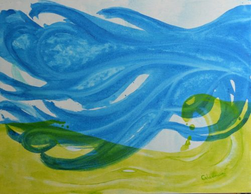 cuadros de arte abstracto fluir 134