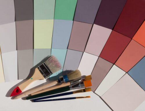 4 consejos para combinar color de pared y cuadros
