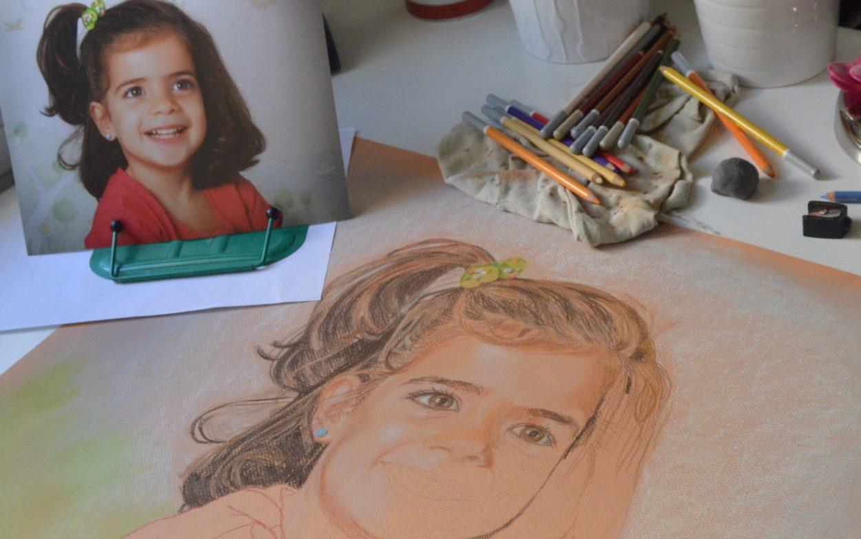 retratos pintados a mano 2