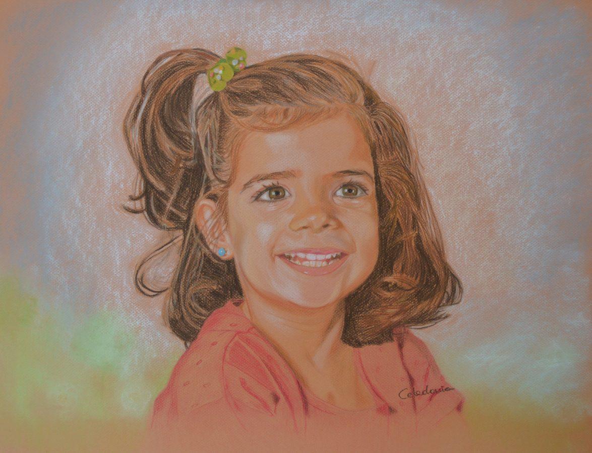 retratos pintados a mano 3
