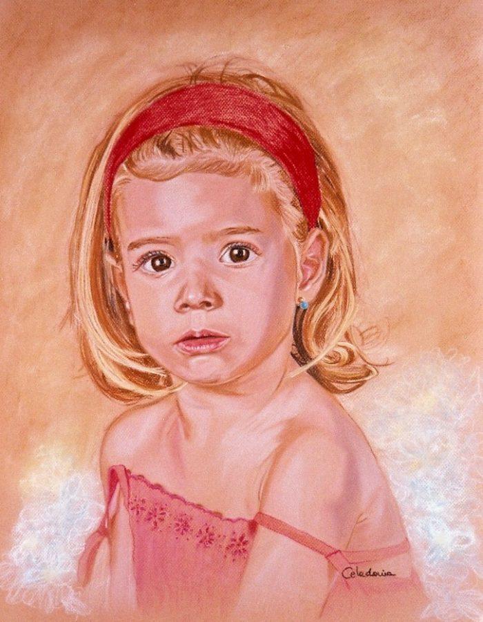 retratos pintados a mano 6