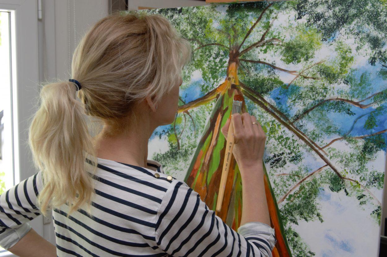 cuadros pintados a mano 3